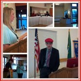 Speaking at Tukwila Rotary Club - Winners Don't Quit Association