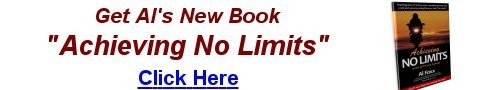 Get Al's Book Today - Achieving No Limits